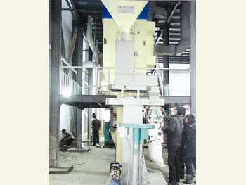 yzp-200吨蒸汽压片成套设备